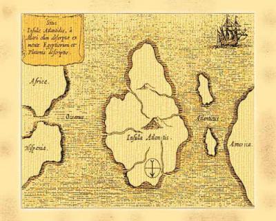 Атлантида - затонувший континент