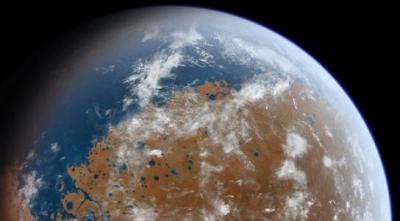 Древние Марсиане могли дышать водородом