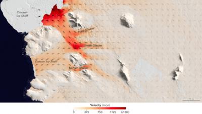 Ледники Антарктиды тают с невиданной скоростью